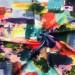 Джерси принт - акварель абстрактная