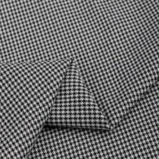 Костюмная гусиная лапка, вязаная