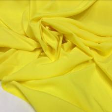 Вискоза однотонная — желтая